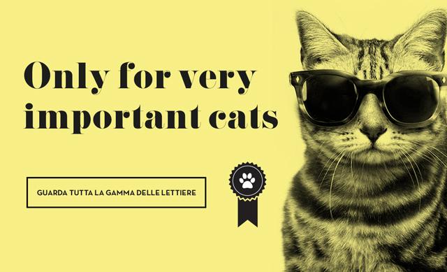Slider Lindocat Lettiere per gatti