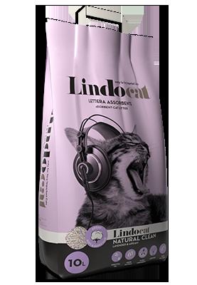 Lindocat Natural Clean per gatti a pelo lungo